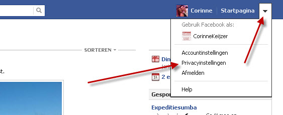 hoe stel je privacy in facebook