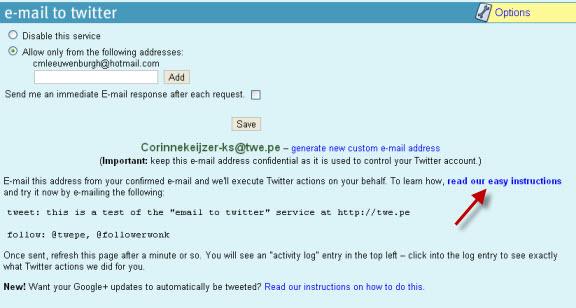 twitter zoek tool