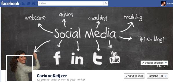 tijdlijn facebook