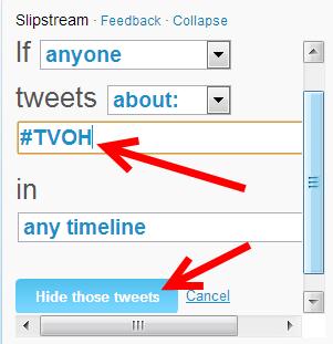 twitter woorden filteren