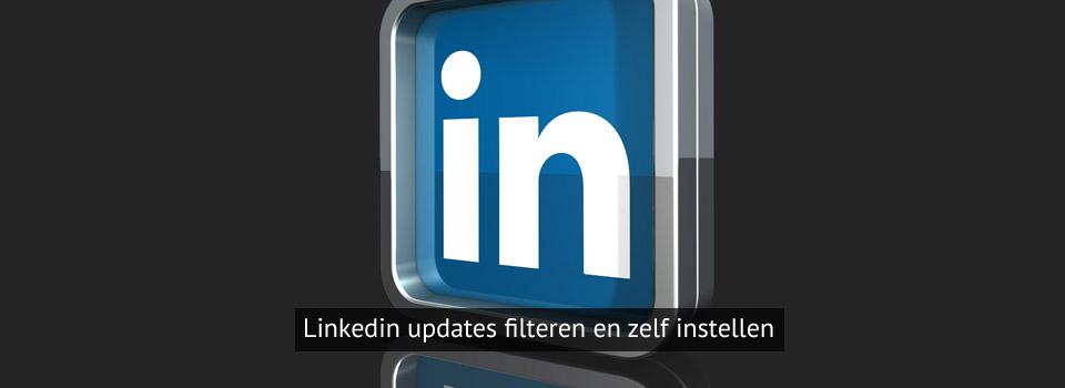 linkedin instellingen updates aanpassen
