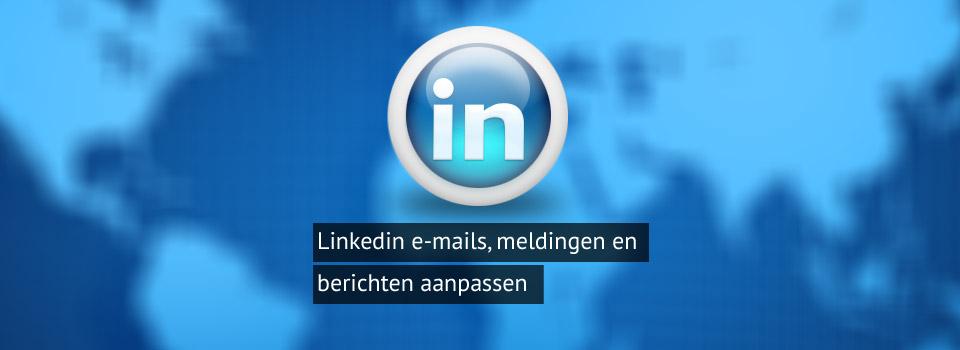 emails linkedin stoppen