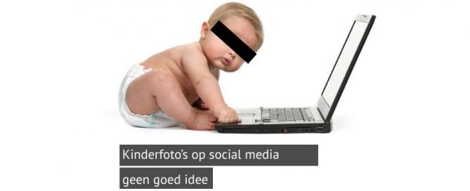 kinderfoto's op sociale media