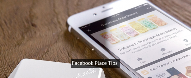 Facebook Place Tips