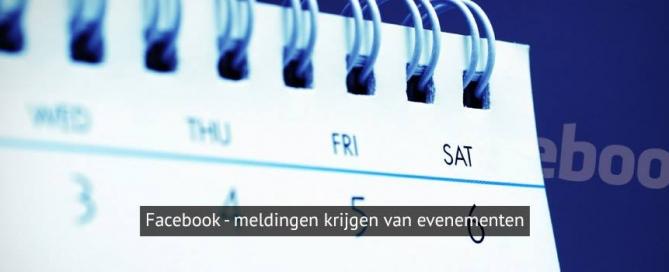 Facebook abonnement evenementen