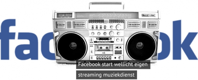 Facebook Streaming Muziek