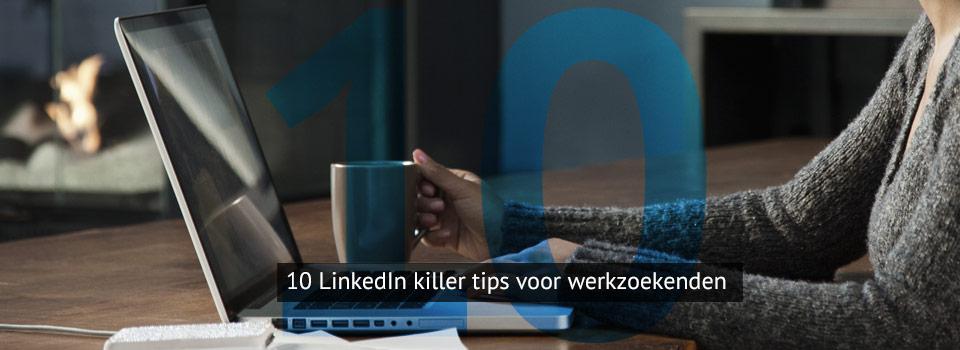 10 tips voor werkzoekenden