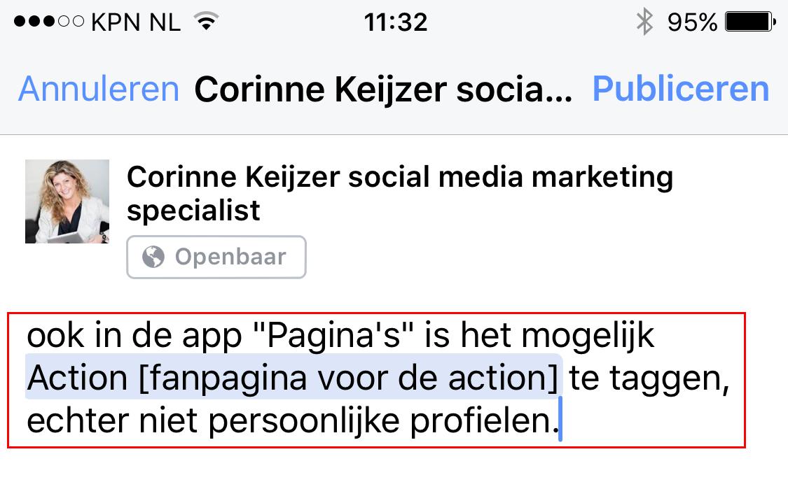Hoe taggen facebook