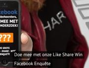 like share win acties onderzoek