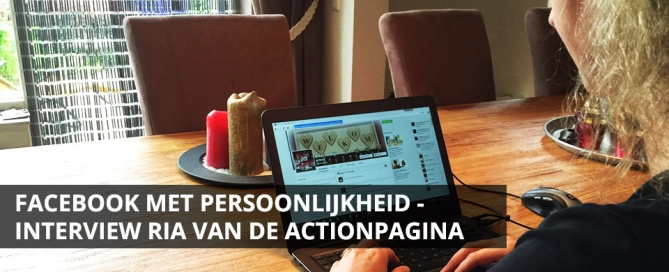 facebook action fanpagina