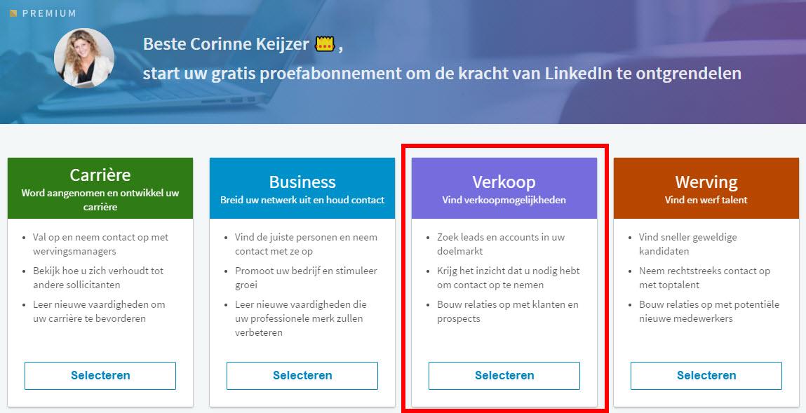 10 tips voor social selling met LinkedIn | Corinne Keijzer