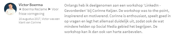 review corinne keijzer