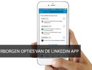 opties LinkedIn app