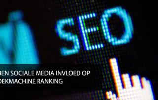 zoekmachine optimalisatie en social media