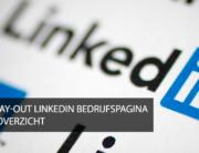LinkedIn nieuwe lay out bedrijfspagina