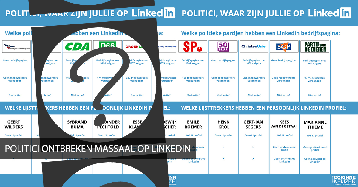 politiek op social media