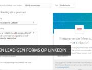 lead formulieren linkedin