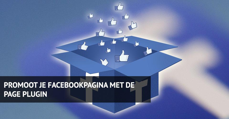 Krijg meer volgers op je facebookpagina door gebruik te maken van de Page Plugin