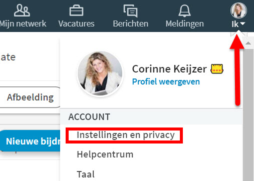 privacy linkedin
