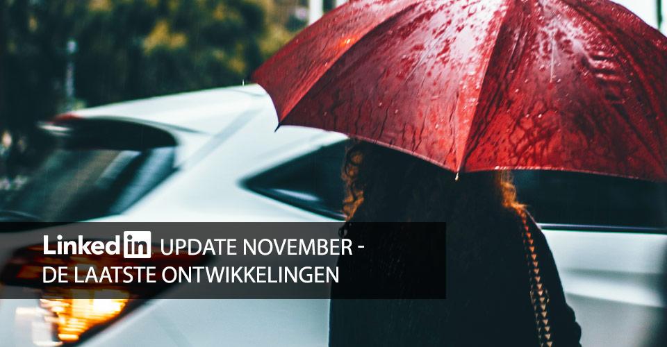 nieuw op linkedin in november