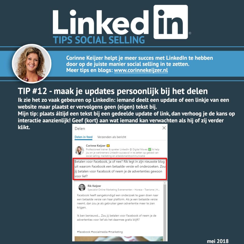 tips updates linkedIn