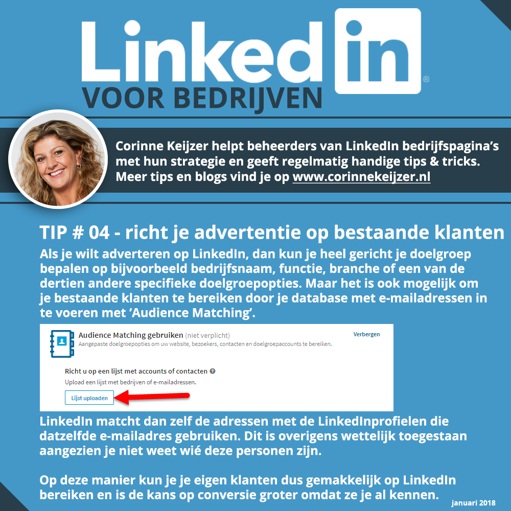 adverteren linkedin tips
