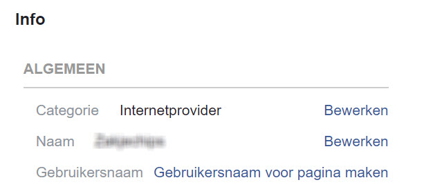 Hoe verander ik de URL van mijn Facebook bedrijfspagina