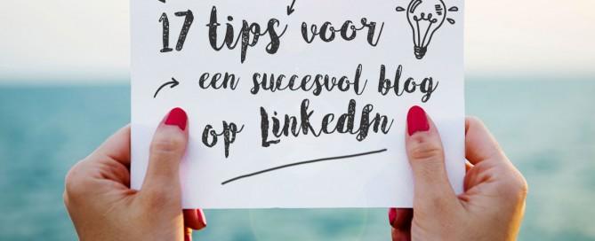 tips artikel schrijven linkedin