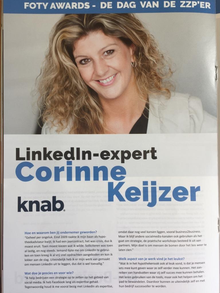 linkedin specialist corinne keijzer