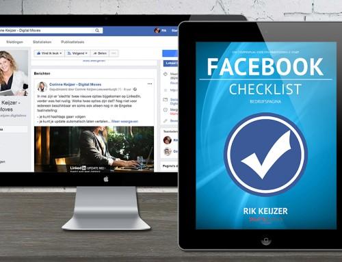 NIEUW: Checklist Facebook Bedrijfspagina
