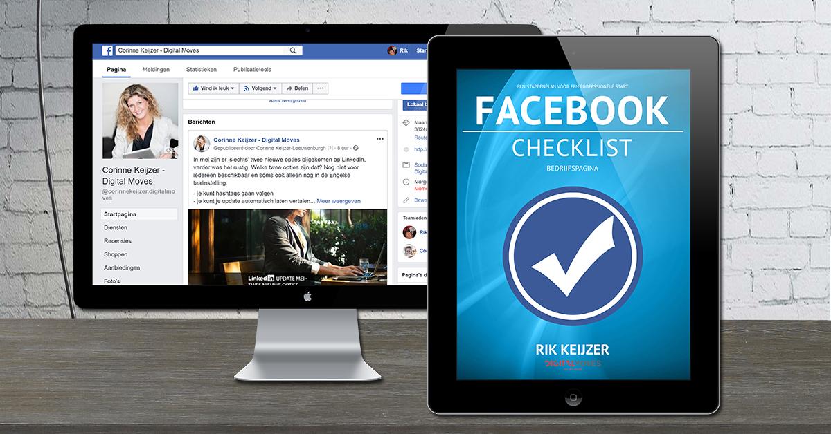 Checklist Facebook Bedrijfspagina