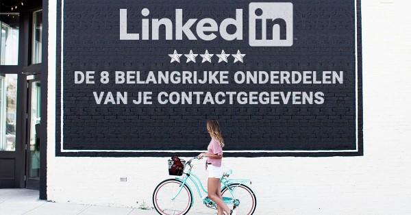 contactgegevens linkedin aanpassen