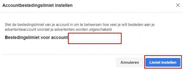 Facebook advertentiebeheer opzetten - stap 12