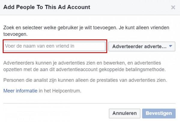 Facebook advertentiebeheer opzetten - stap 15