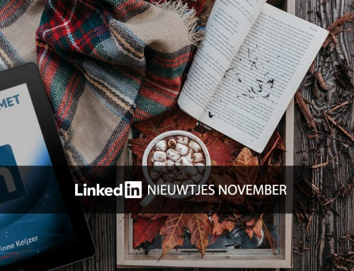 LinkedIn nieuwtjes november
