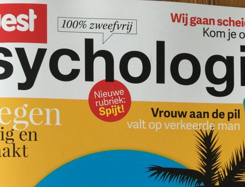 Interview in Quest Psychologie over Whatsapp