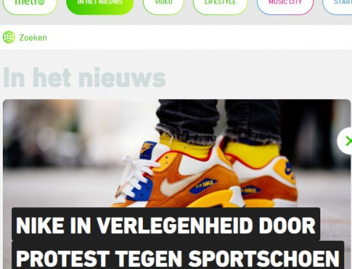 Interview Metro over social media protest tegen Nike