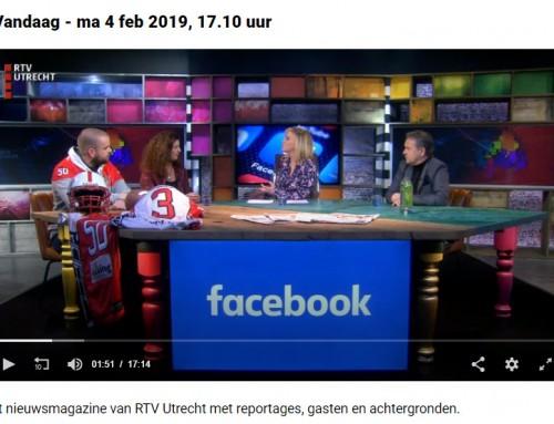 Tafelgast bij U Vandaag van RTV Utrecht