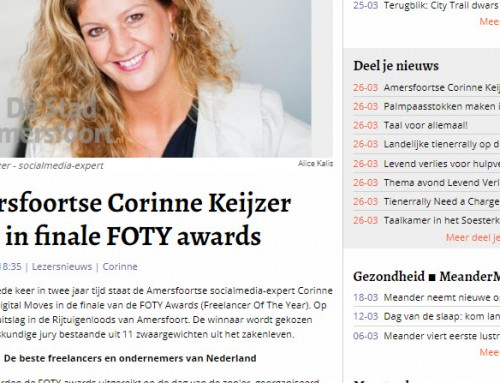Finaliste FOTY Awards