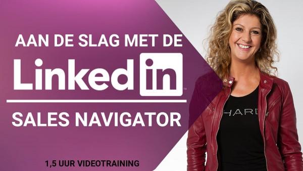 Online video training - Aan de slag met de LinkedIn Sales Navigator - Corinne Keijzer - Digital Moves