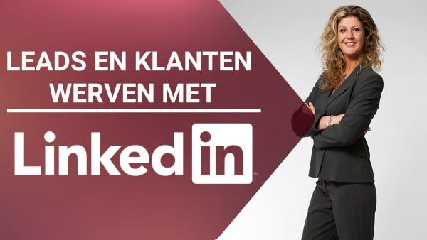 Online video training - Online leads en klanten werven met LinkedIn - Corinne Keijzer - Digital Moves