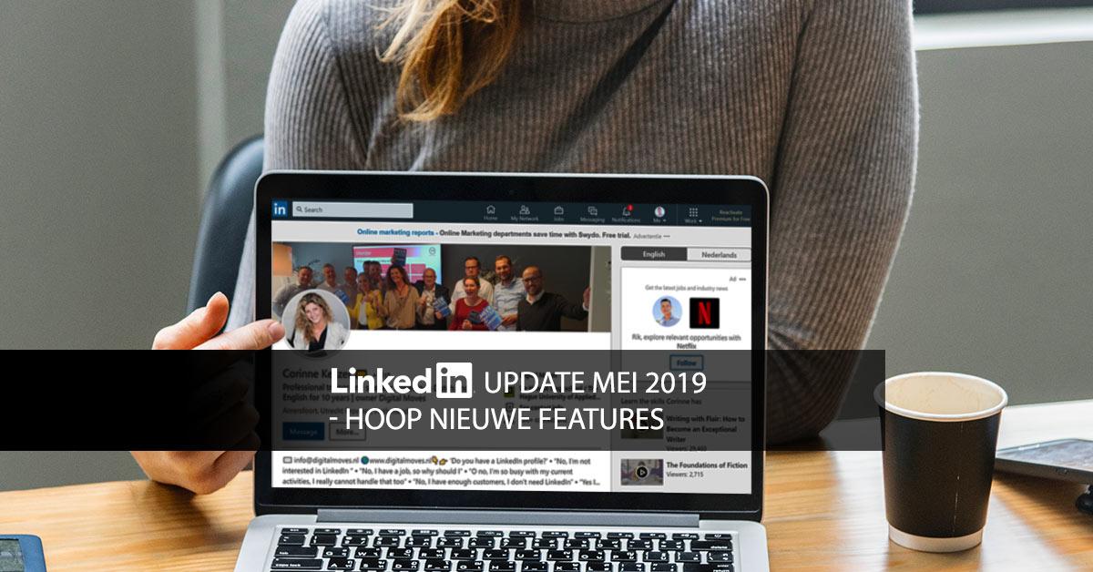 update linkedin
