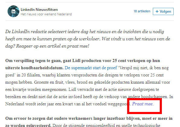 redactie NL LinkedIn