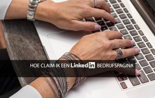 bedrijfspagina linkedin claimen