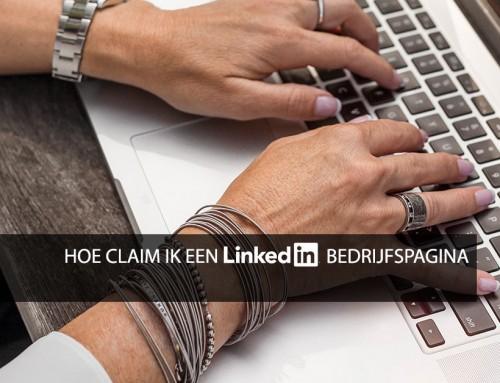 Hoe claim ik een LinkedIn bedrijfspagina