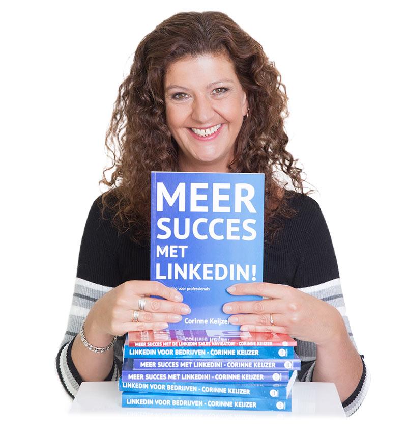 """Social media expert Corinne Keijzer - auteur van het boek 'Meer succes met LinkedIn"""""""