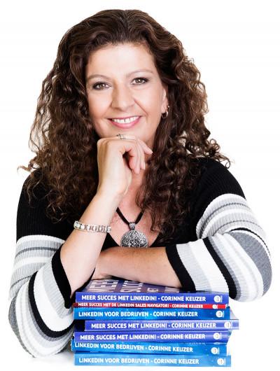 Social media expert en trainer Corinne Keijzer