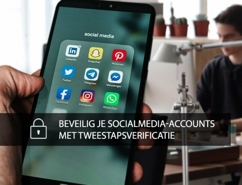 Beveilig je socialmedia-accounts met tweestapsverificatie