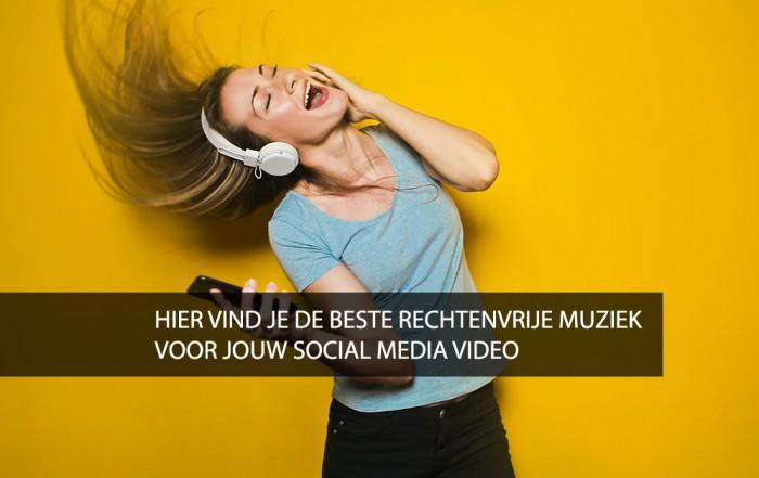 Hier vind je de beste rechtenvrije muziek voor jouw social media video