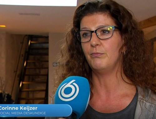 Interview Hart van Nederland over daling gebruik social media